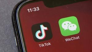 China kontert Tiktok-Sperre mit Strafmechanismus