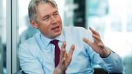 Bernhard Langer, Geschäftsführer des Investmentunternehmens Invesco.
