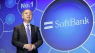 Masayoshi Son, der Gründer und Vorstandsvorsitzende des japanischen Softbank-Konzerns.