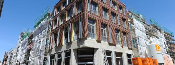 Bau von TLG Immobilien in der Altstadt von Stralsund