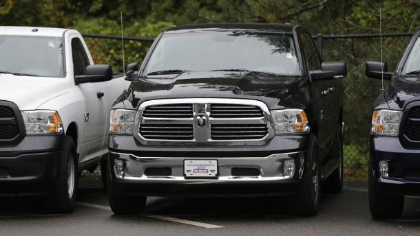 SUV und Pickups treiben amerikanischen Autoabsatz