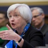 Was immer Amerikas Notenbankpräsidentin Yellen sagt - es bewegt die Märkte.