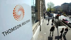 Ehemaliger Mitarbeiter wirft Thomson Reuters Insider-Verstoß vor