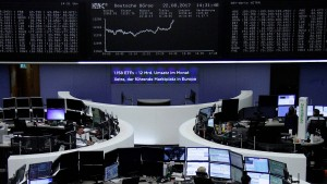 Deutsche Aktien deutlich unter Druck