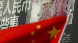 Chinas Devisenreserven sinken auf tiefsten Stand seit 2011