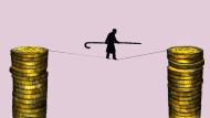 Das Rentner-Dasein ist ein Balanceakt.