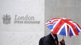 Britisches Pfund fährt Achterbahn