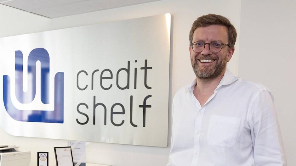 Tim Thabe, Mitgründer der Kreditplattform Creditshelf