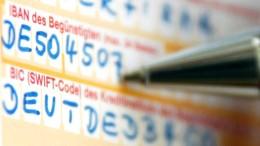 Verbraucher klagen über Probleme bei IBAN-Zahlung