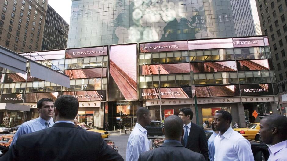 2007: Noch schien das Geschäft von Lehman Brothers zu florieren.