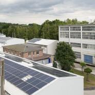 Firmengelände der IBU-tec bei Weimar