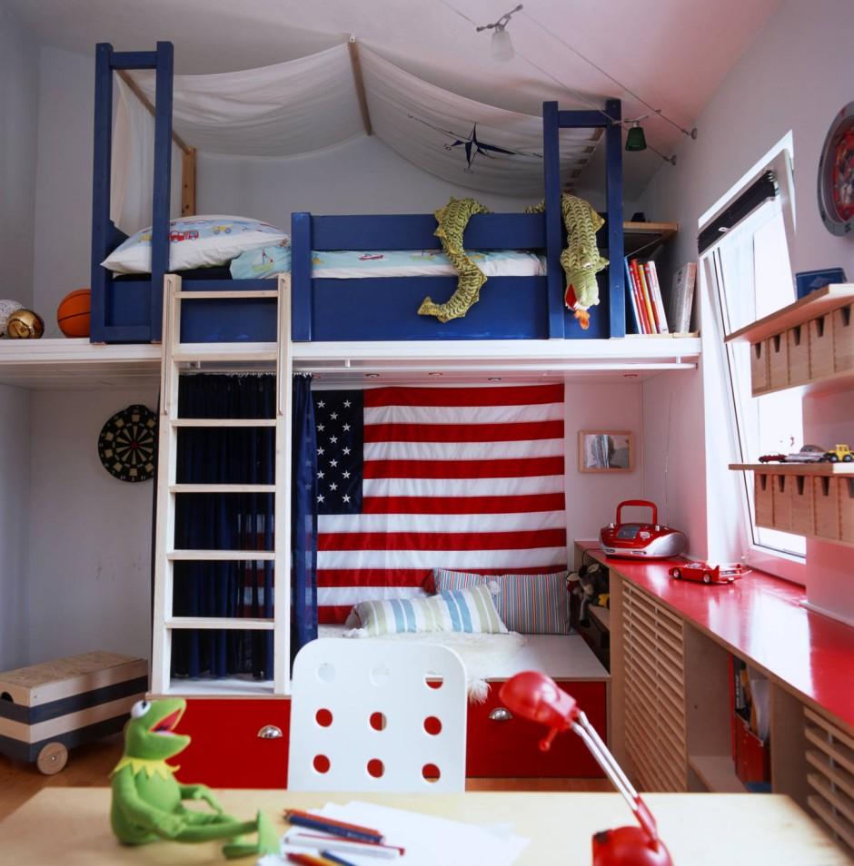 Bild zu einrichtung f rs kinderzimmer besser klug for Platzsparendes kinderzimmer