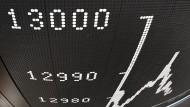 Dax überspringt Marke von 13.000 Punkten