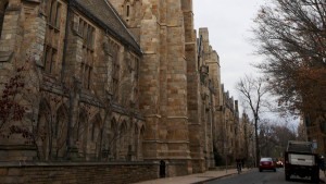 The Harkness Tower at Yale University in New Haven
