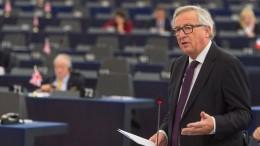 Juncker hält Rede zur Lage der EU