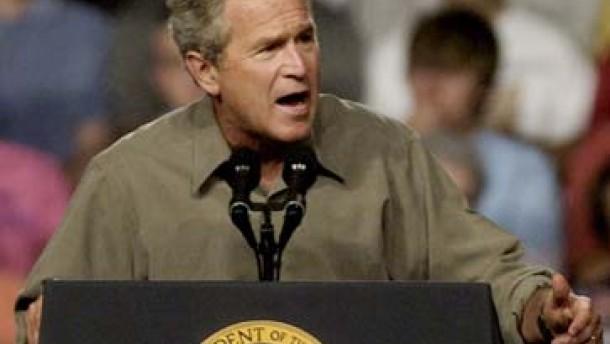 Wall Street verliert Vertrauen in Bushs Wirtschaftspolitik
