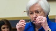 Fed-Chefin spielt auf Zeit