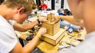 Hort der Innovation: Startup-Team des Inkubators Unternehmertum an der TU München