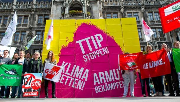 Streit um TTIP-Freihandelsabkommen