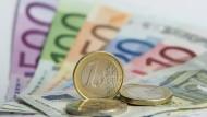 Im Sinkflug: Die Inflationsrate in Hessen fällt weiter.