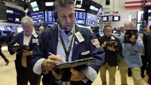 Der Aktienmarkt schrumpft
