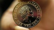 Neues Porträt ziert britische Münzen