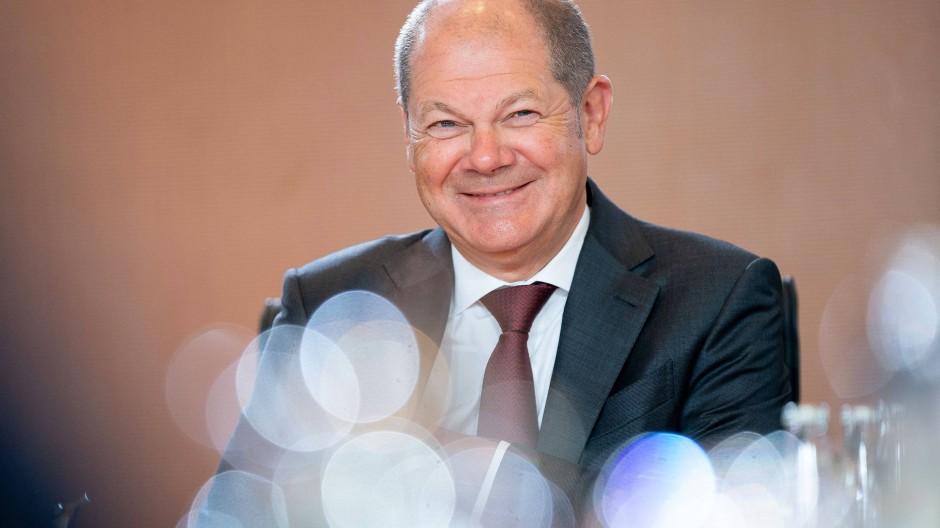Verschmitzt: Bundesfinanzminister Scholz