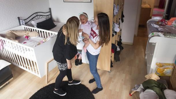 Zweieinhalb Zimmer für drei Generationen