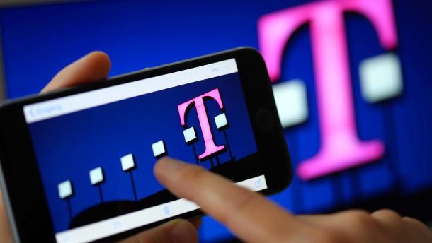 Sprint-Übernahme beflügelt Telekom-Kurs
