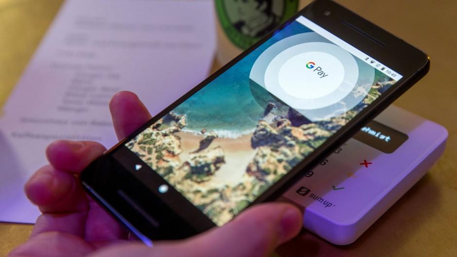 Der Bezahldienst Google Pay ist schon auf dem Markt