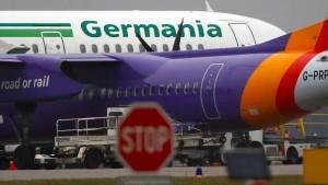 Insolvenzverwalter dämpft Hoffnungen von Germania-Kunden