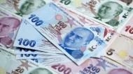 100 türkische Lira werden immer weniger wert