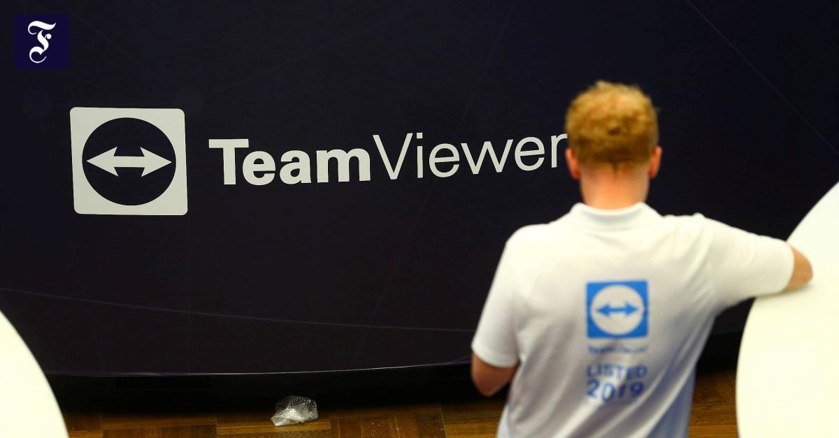 Teamviewer behauptet nach Aktienverkauf durch Permira - FAZ - Frankfurter Allgemeine Zeitung