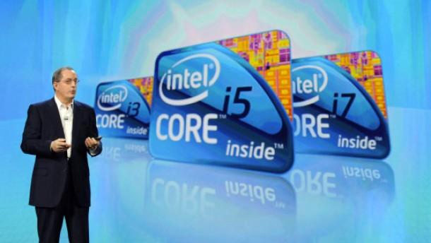 Intel profitiert von seiner starken Marktstellung