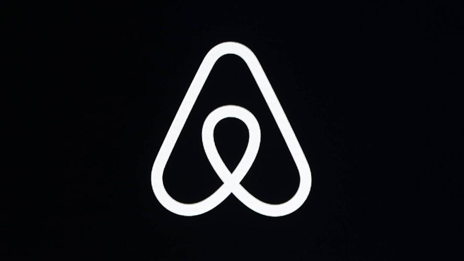 Das Markenzeichen der Mietplattform Airbnb