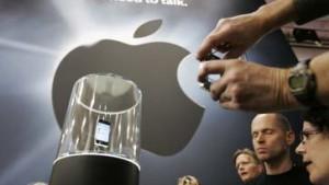 Apple-Aktie reitet auf der iWelle