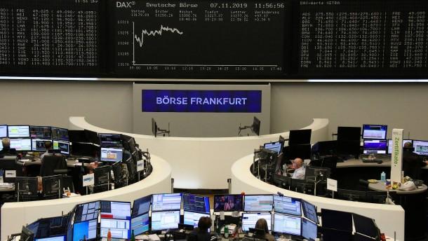 Anleger von Euphorie weit entfernt