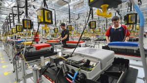 Aktienkurs von SMA Solar steigt kräftig