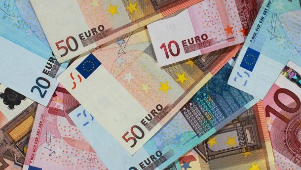 Banknotenumlauf hat sich fast verdoppelt