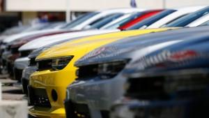 Amerikas Autoverkäufe ziehen nach strengem Winter kräftig an