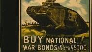 Beispiel Kriegsanleihen: Anleihen sind schon historisch nie sicherer als Aktien gewesen.