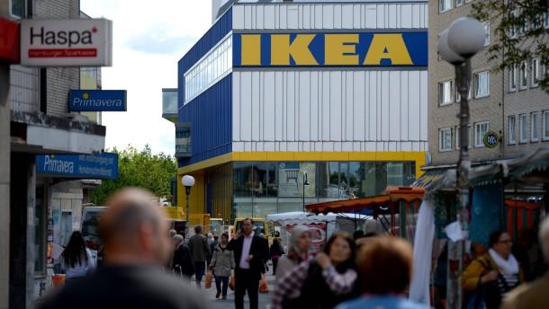 Ikea in der Fußgängerzone