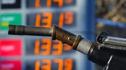 Benzinpreise auf höchstem Stand des Jahres