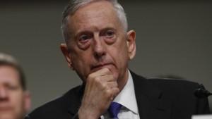 Pentagon-Chef warnt vor weiterer Eskalation