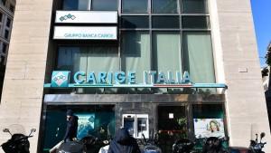 Finanzministerium Italiens schaltet sich bei Banca Carige ein