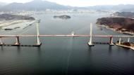 Die Machang Grand Brücke in Südkorea, einem der vielen aufstrebenden Ländern.