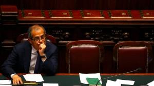 Nervöse Märkte in Italien
