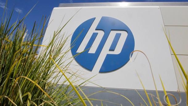 Hewlett-Packard brechen die PC-Verkäufe weg