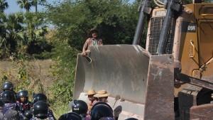 Kampf um burmesisches Kupfer
