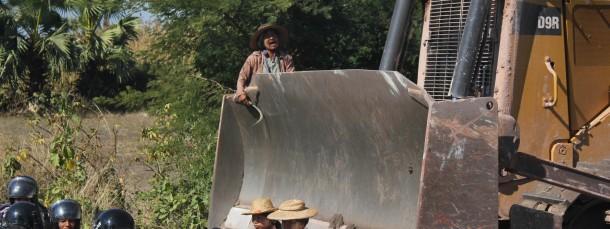 Die Auseinandersetzungen zwischen burmesischen Bauern und chinesischen Investoren spitzen sich weiter zu